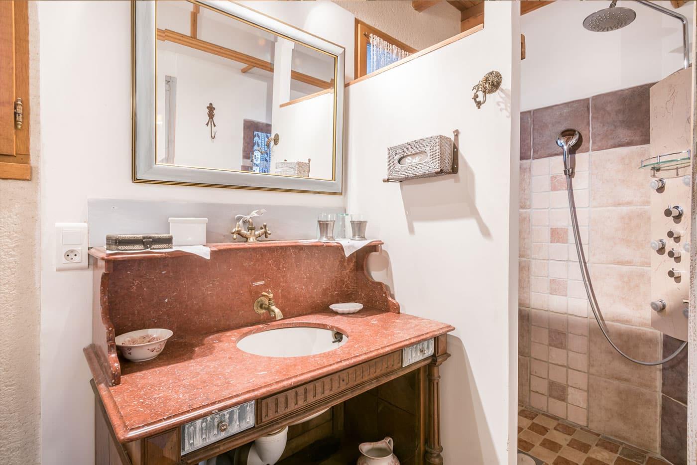Chambre Pottock Salle de bain